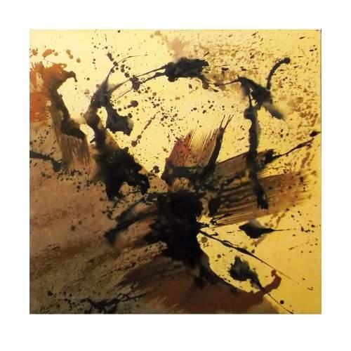 Carla Rigato,Pensiero Lunare, acrilico su tela, cm. 100 x 100, anno 2013