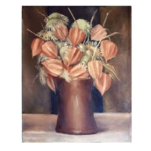 "Rainaldi Oliviero,""natura morta"", olio su tela,cm.40x30"