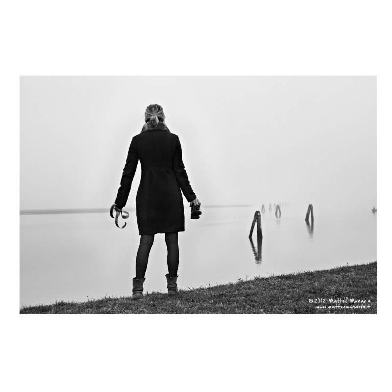 "MATTEO MUNARIN ""Abbandono"", foto 50x70, su carta"