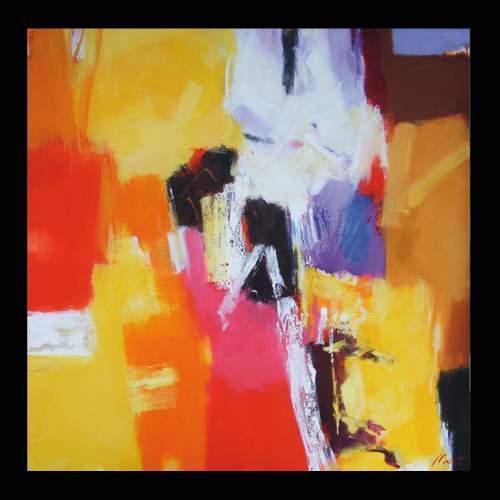 Luigi Marotti, 4 Veniva d'estate, olio su tela, cm.100x100, anno 2013