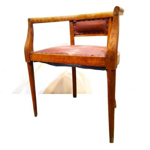Poltroncina in legno di faggio|primi novecento|h.cm.64 x 52x 41