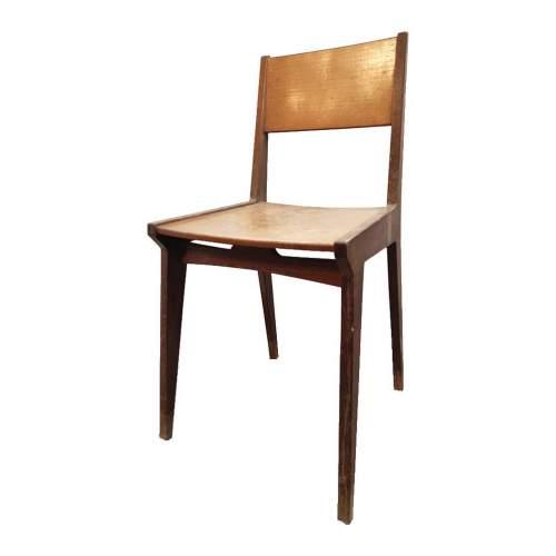 Sedie in set di due | in legno di faggio | h. cm. 87 x 44,5 x 43 | anni 50/60
