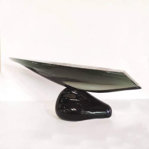 "Angelo Rinaldi | ""Yacht"" | Scultura  |h.cm. 25,5x58x12"