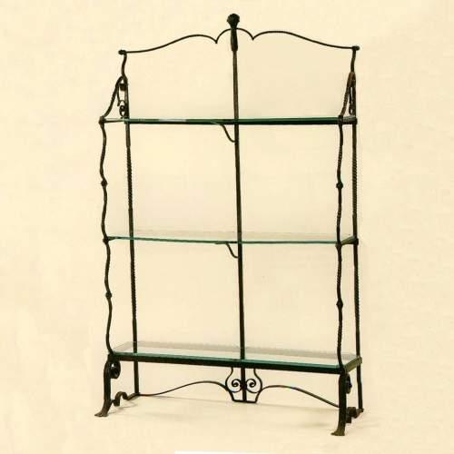 Umberto Bellotto| Etagere in ferro battuto| h. cm. 204x128x48 | pubblicato