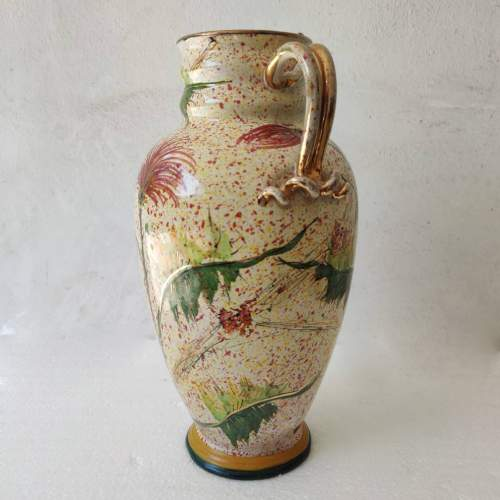 Giulio Pagliarini | Vaso in ceramica | H. cm. 33x25 |marchio sotto la base
