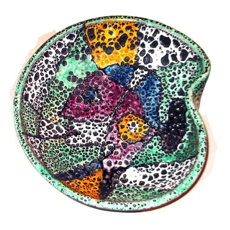 Goldhelm | Centrotavola  in ceramica decorativa  , Tübingen, circa 1955
