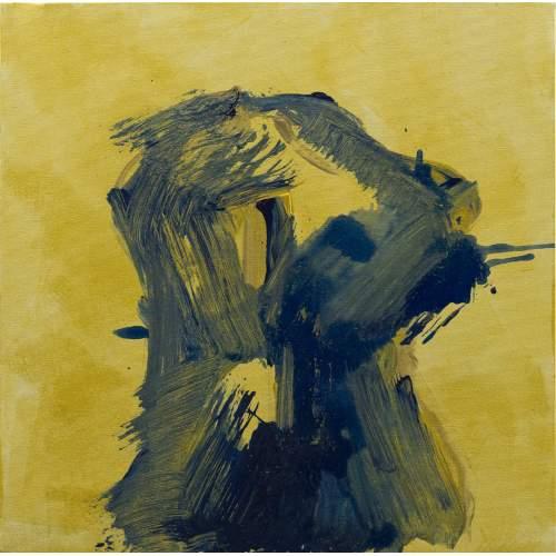 """Carla Rigato """"Busto2"""" acrilico su tela, h.cm. 50x50, anno 2019, opera firmata"""