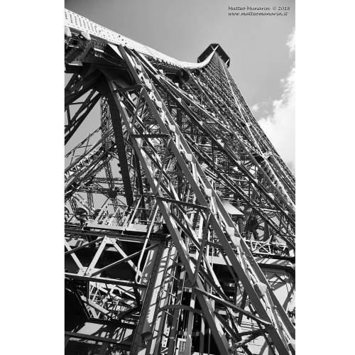 "MATTEO MUNARIN ""Eiffel Up"", fotoquadro 70x40, tela canvas"